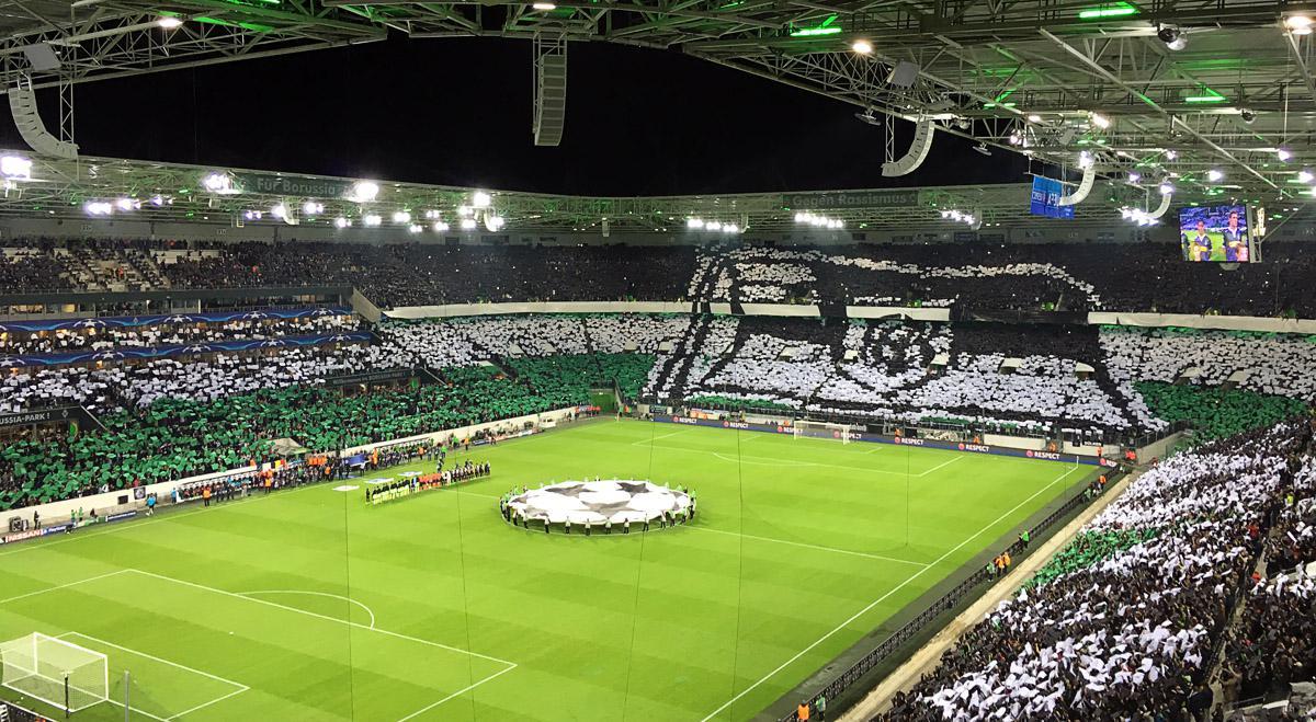 Bild: Borussia vs. ManCity, vor dem Spiel