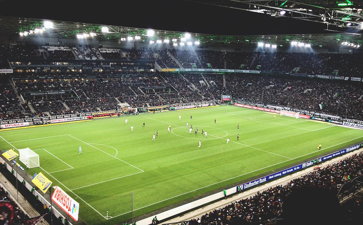 Gladbach vs VfB im November 2012