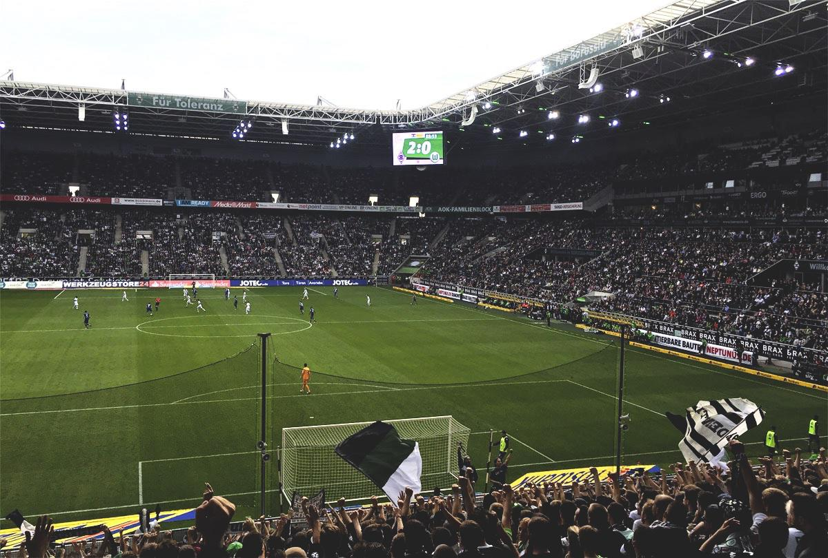 Bild: Borussia-Park Borussia vs Wolfsburg