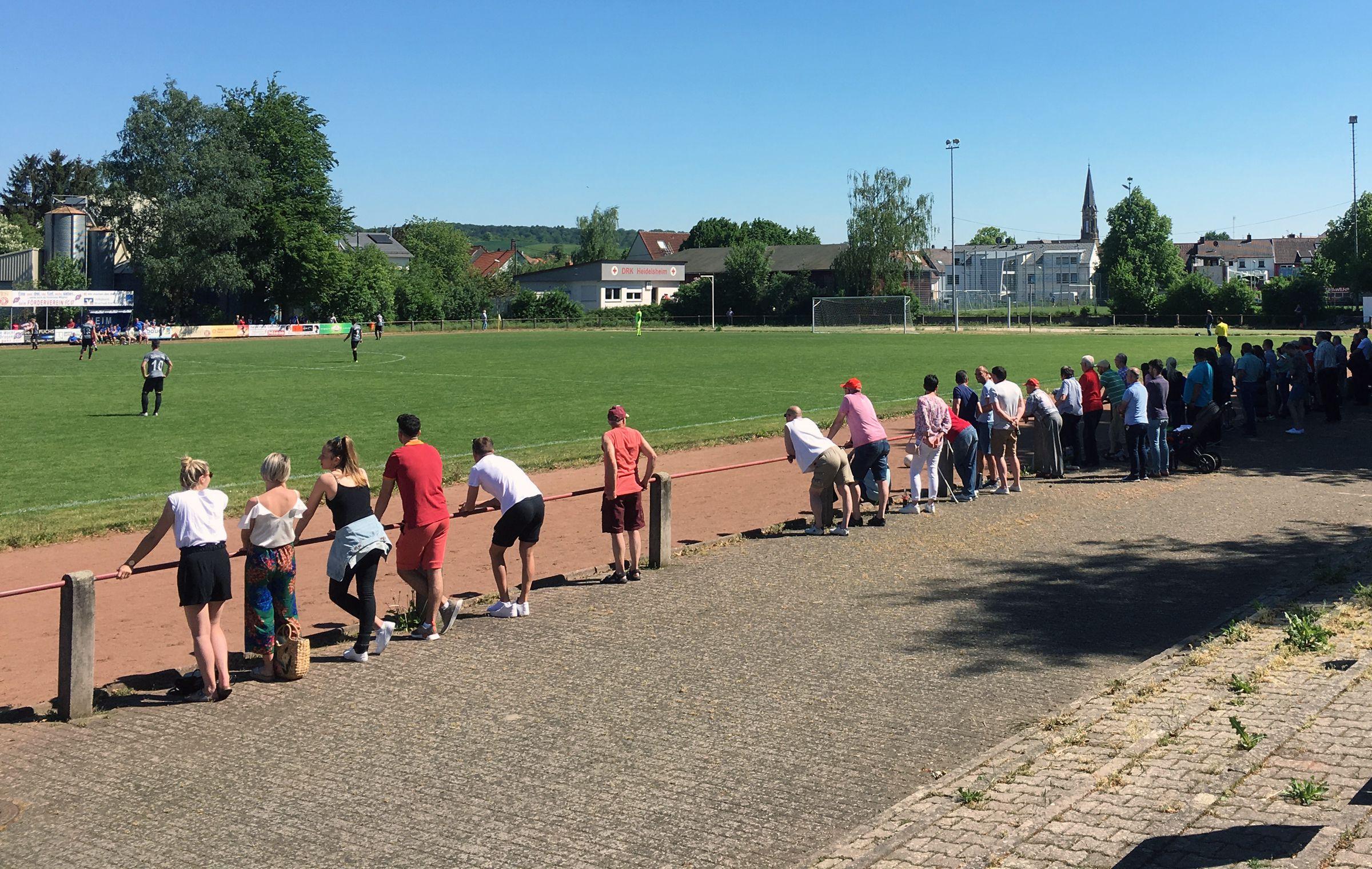 Ein gut besuchter Landesliga-Kracher…