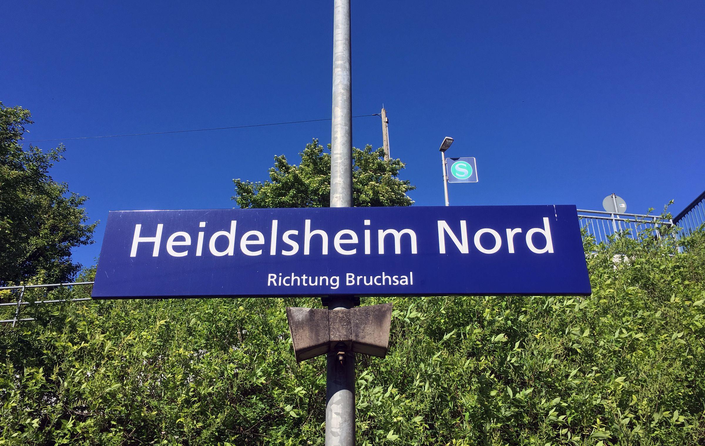 Heidelsheim Nord (Zug hält nur bei Bedarf…)
