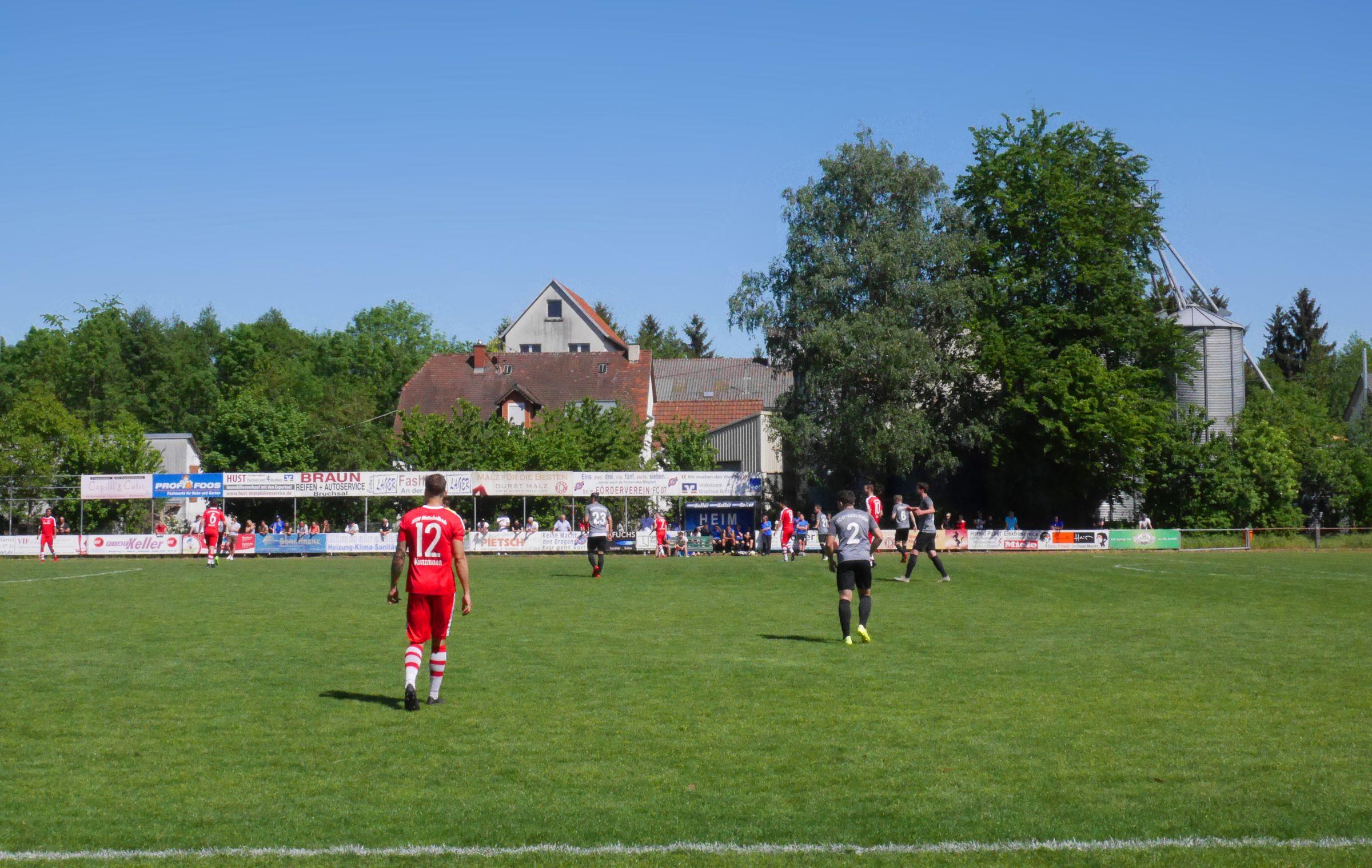 Mutschelbach (die Roten) war das dominierende Team…