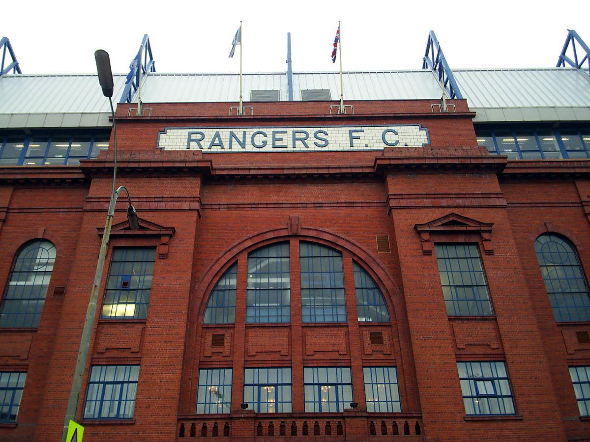 »Ibrox Stadium« (Tom Brogan auf flickr, CC BY-ND 2.0), Heimat der Rangers