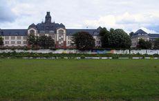 Das alte KFV-Stadion im Mai 2006, wenige Wochen vor dem Abriss