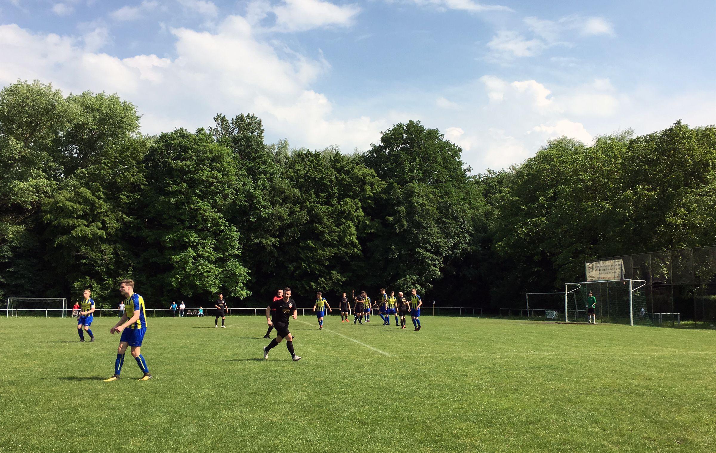 Fußball im Sonnenschein Rüppurrs…