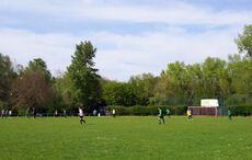 Allerbestes Sportplatzwetter am Ostermontag…