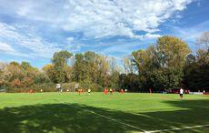 Ein schöner Herbsttag auf dem Sportplatz…