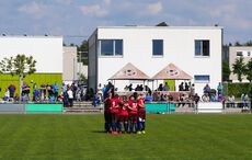 The Huddle beim FC Español…