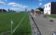 Schöner Sportplatz – gutes Wetter!
