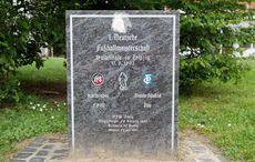 Gedenkstein auf dem Engländerplatz
