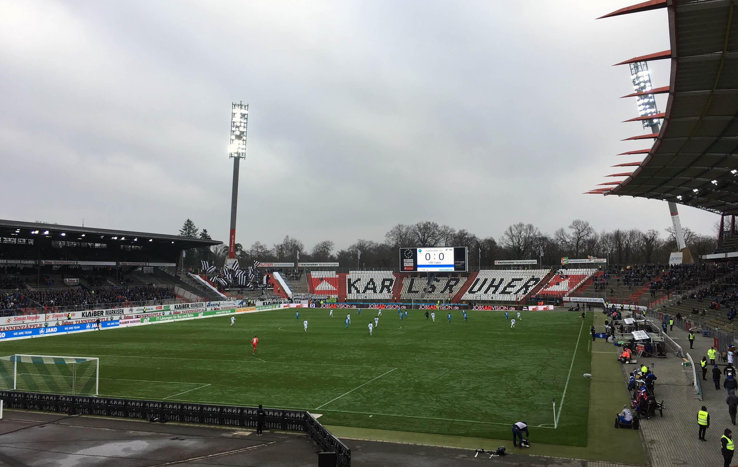 KSC vs VfR Aalen 0:0