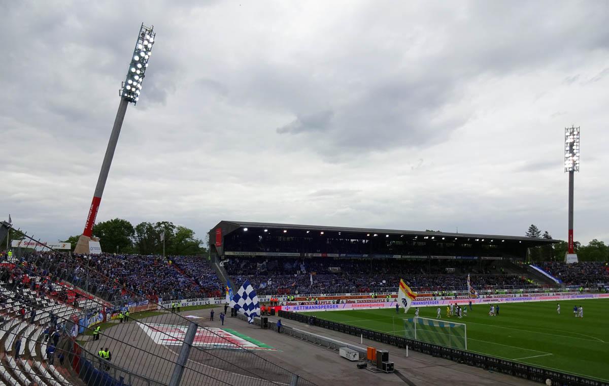 Der letzte Stadionshot der Saison.