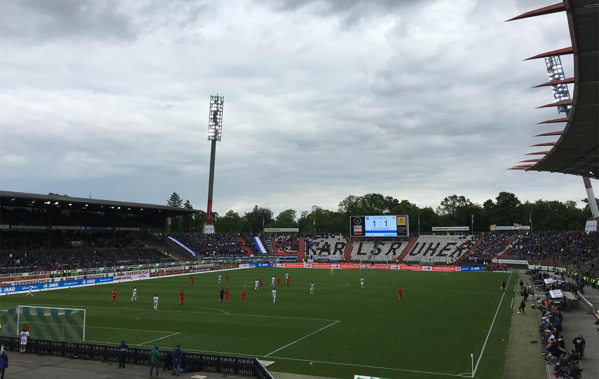 Letztes Spiel 2015/16: KSC vs Arminia Bielefeld 1:1