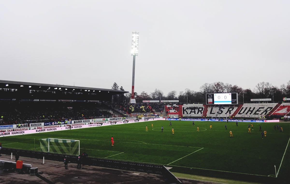 Karlsruher SC vs Eintracht Braunschweig 0:0