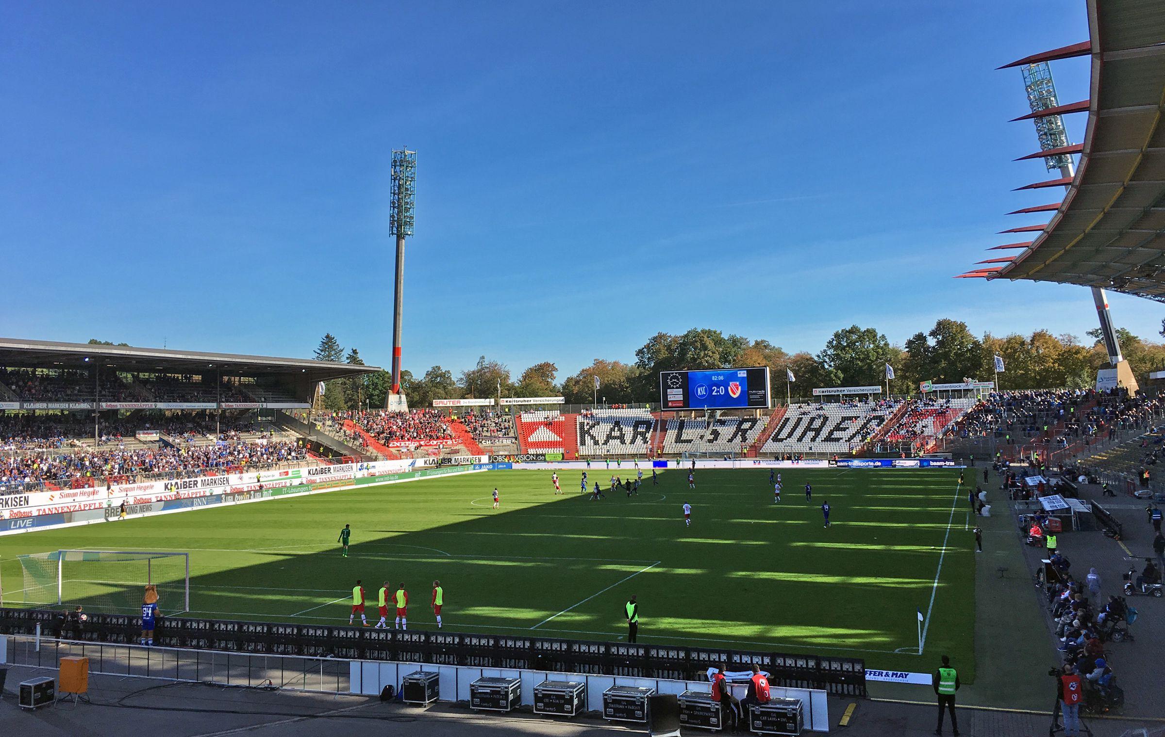 KSC vs FC Energie Cottbus 2:0