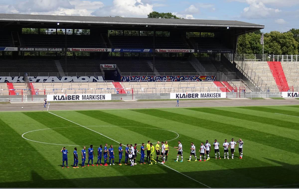 Vor dem Anstoß – KSC vs Derby County