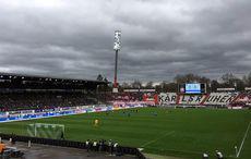 KSC vs Fortuna Düsseldorf – Anpfiff mit dunklen Wolken…
