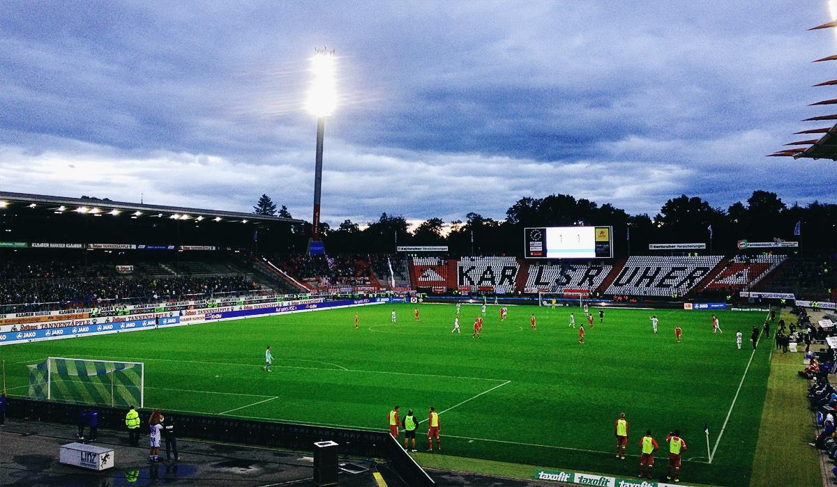 Bild: KSC vs Fortuna Düsseldorf 1:1