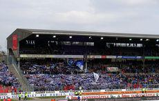 KSC vs Heidenheim 0:0, Gegengerade