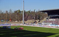 Gedenkminute für die beiden Karlsruher Sport-Legenden Kurt Sommerlatt und Heinz Fütterer…