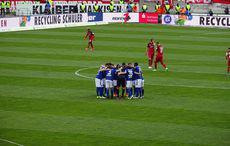The Huddle wirkt bei diesem Team wie eine hohle Geste…