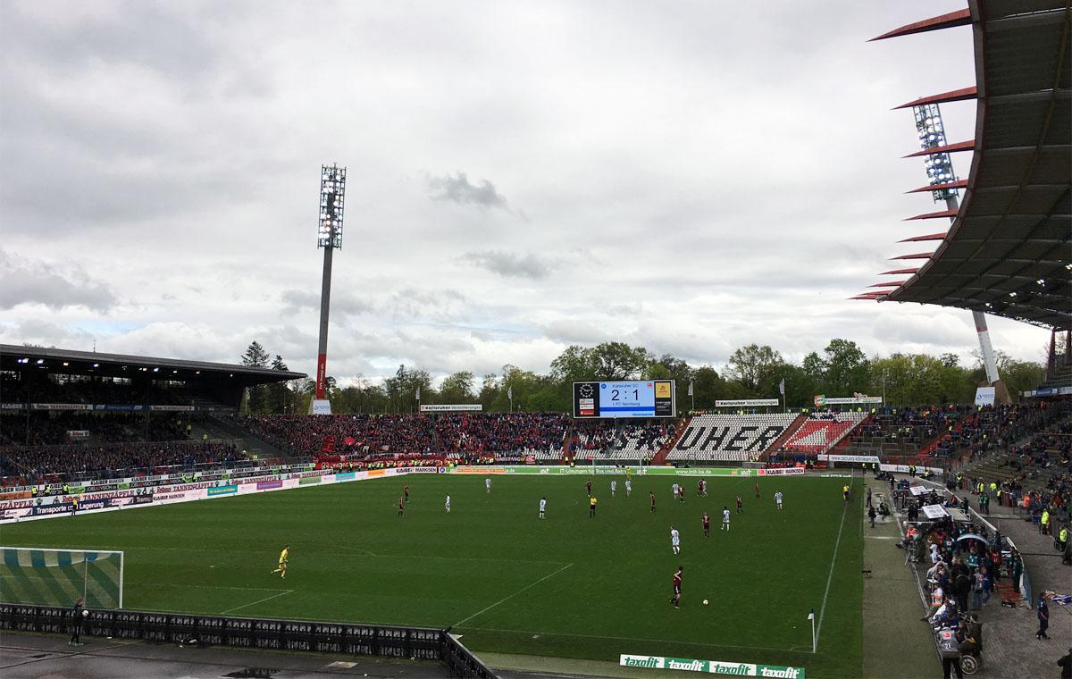 KSC vs 1. FC Nürnberg 2:1