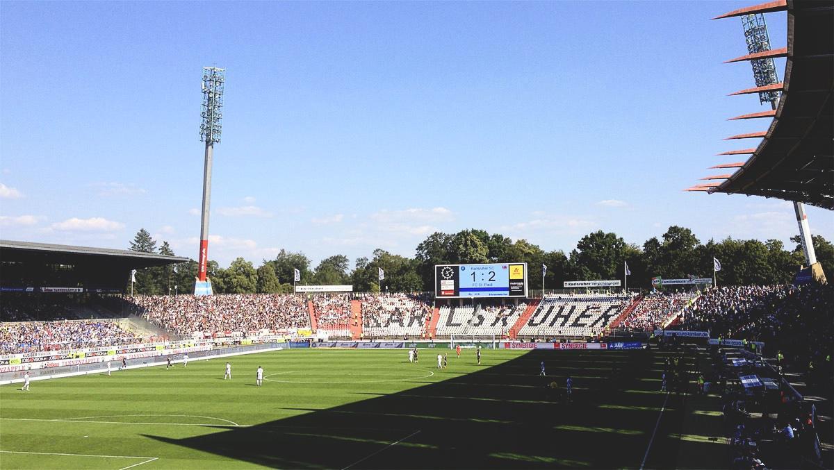 Bild: KSC vs FC St. Pauli 2.8.15 1:2