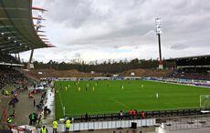 Der letzte Auftritt der alten Flutlichtmasten am 22.12.18 gegen Braunschweig…