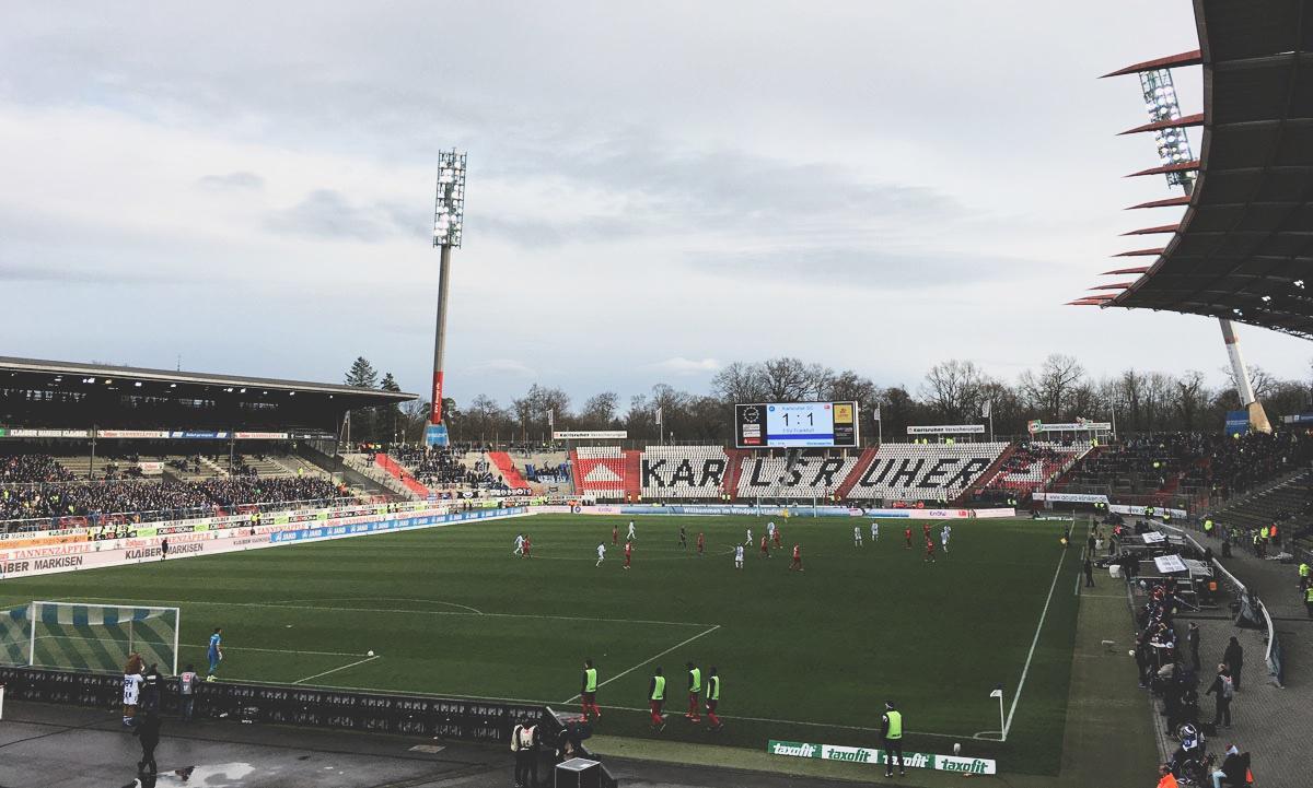 KSC vs FSV Frankfurt 1:1