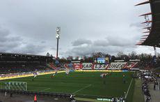 KSC vs FSV Frankfurt 1:1, Anstoß