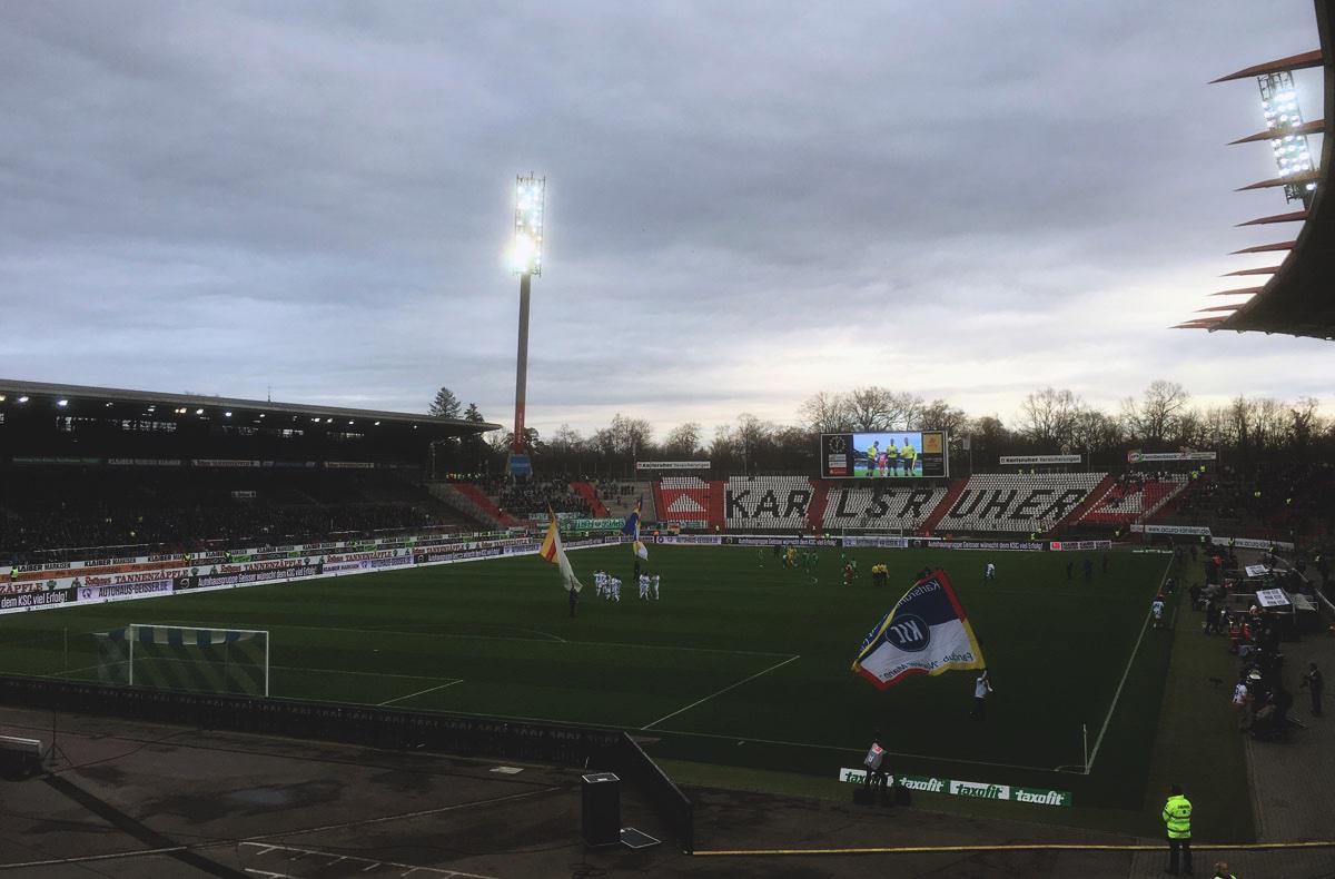 KSC vs Greuther Fürth - Vor dem Anstoß