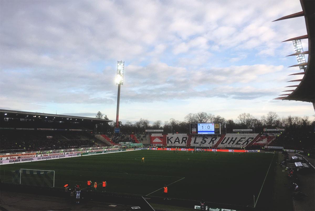 KSC vs Greuther Fürth 1:0