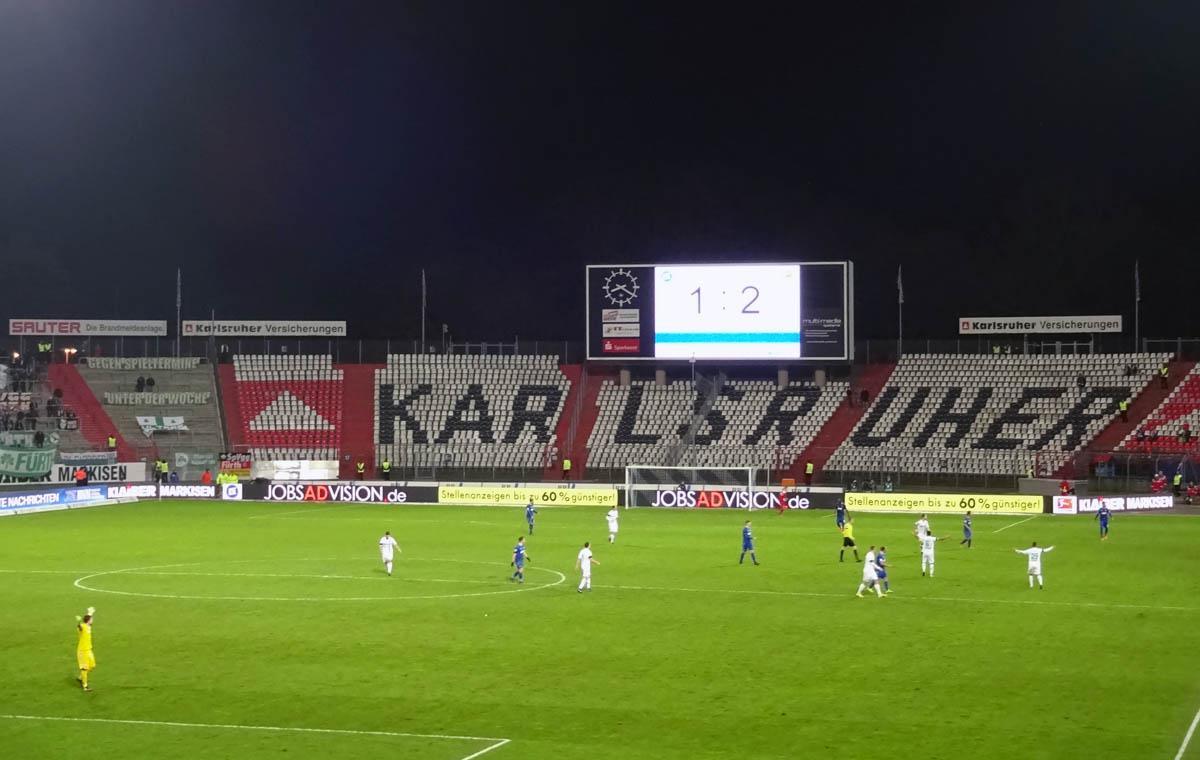KSC vs SpVgg Greuther Fürth 1:2