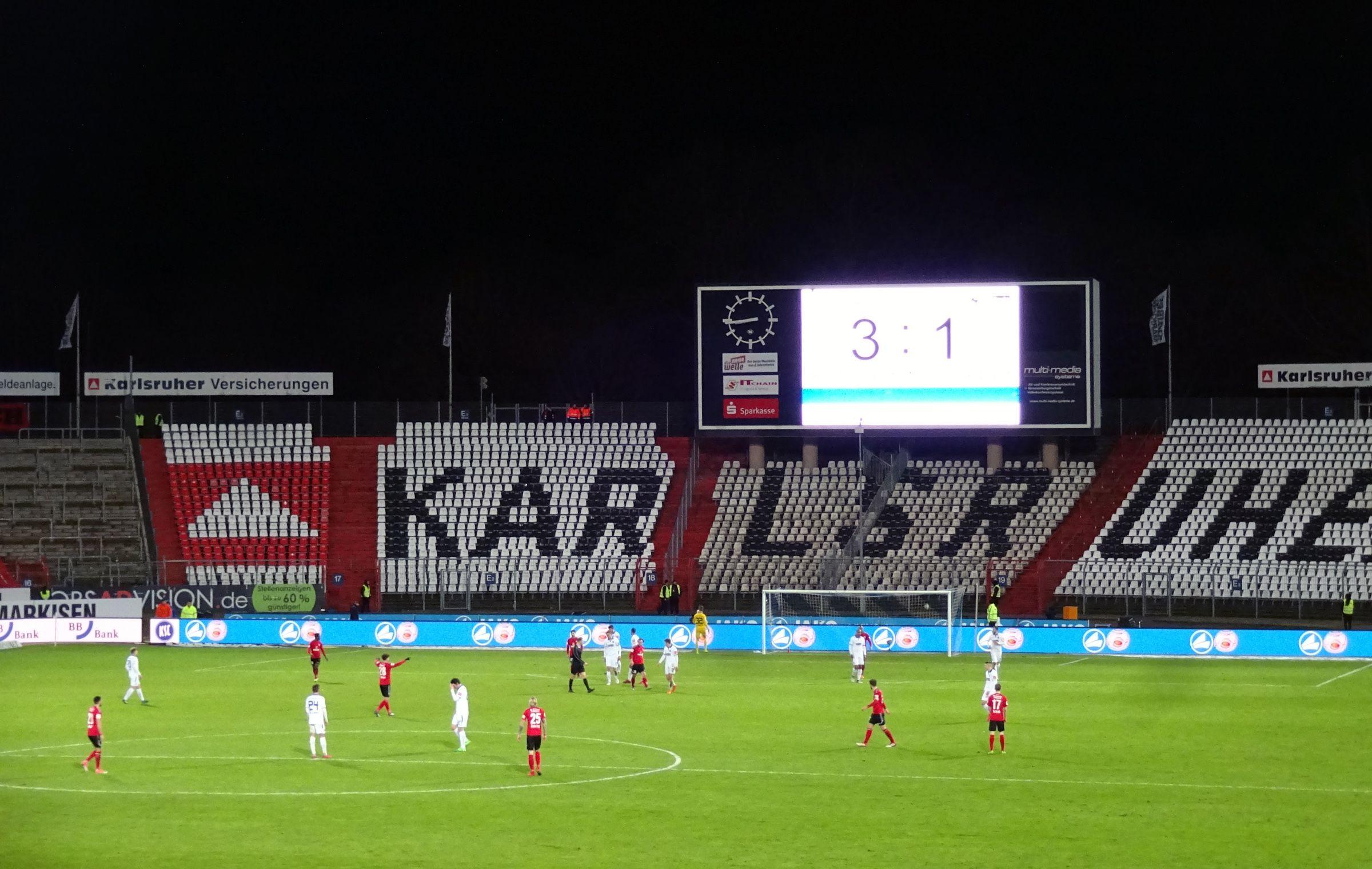 KSC vs SG Sonnenhof Großaspach 3:1