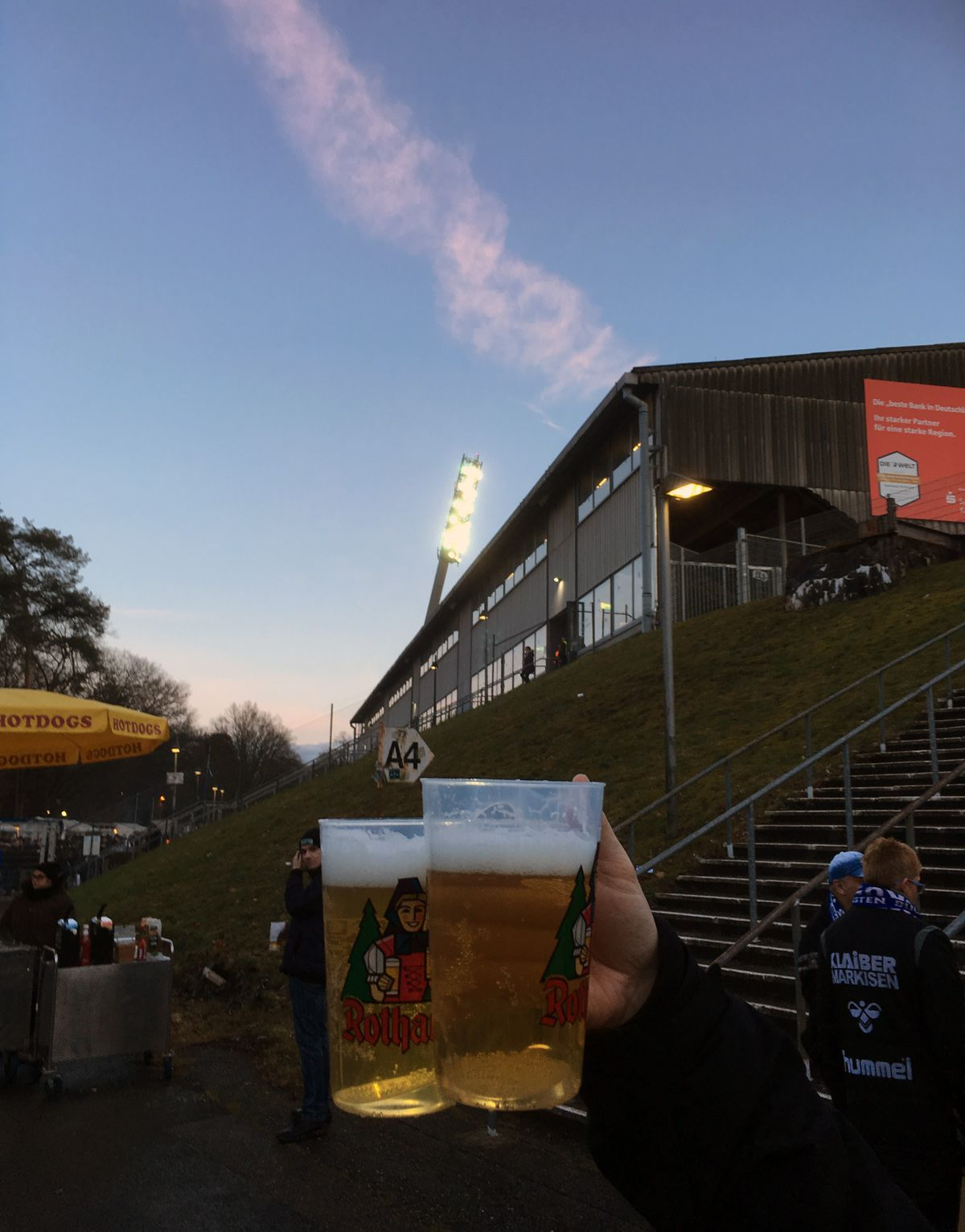 Stadionromantik pur!
