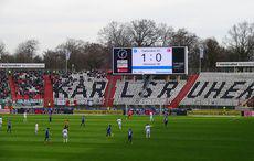 KSC vs Hannover 96 zur Halbzeit 1:0