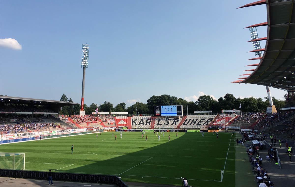 KSC vs Hallescher FC 1:1
