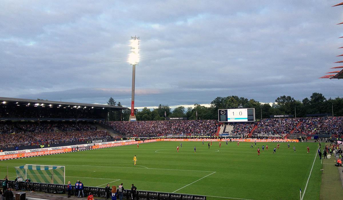 Zweites Relegationsspiel KSC vs HSV am 1.6.2015