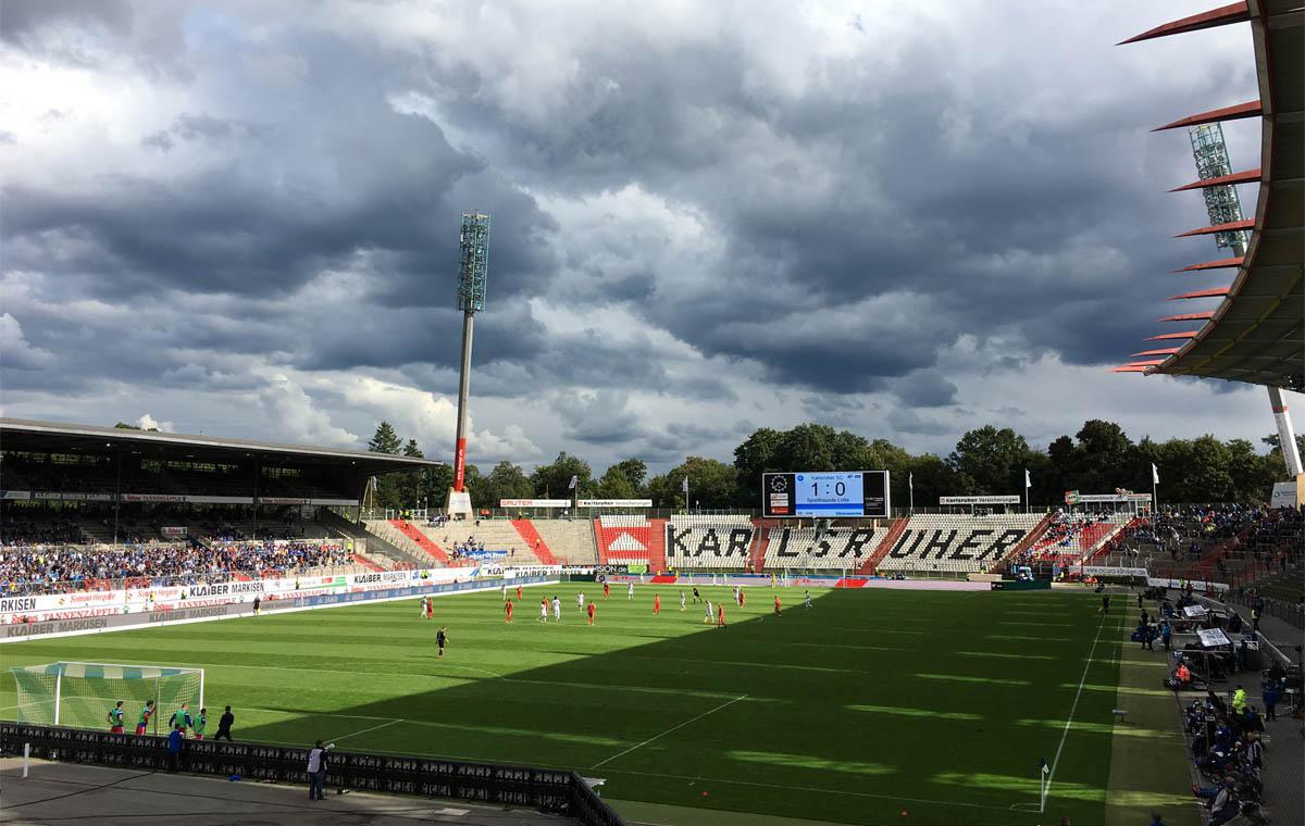 KSC vs Sportfreunde Lotte 1:0