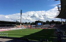 KSC vs Sportfreunde Lotte, Anstoß