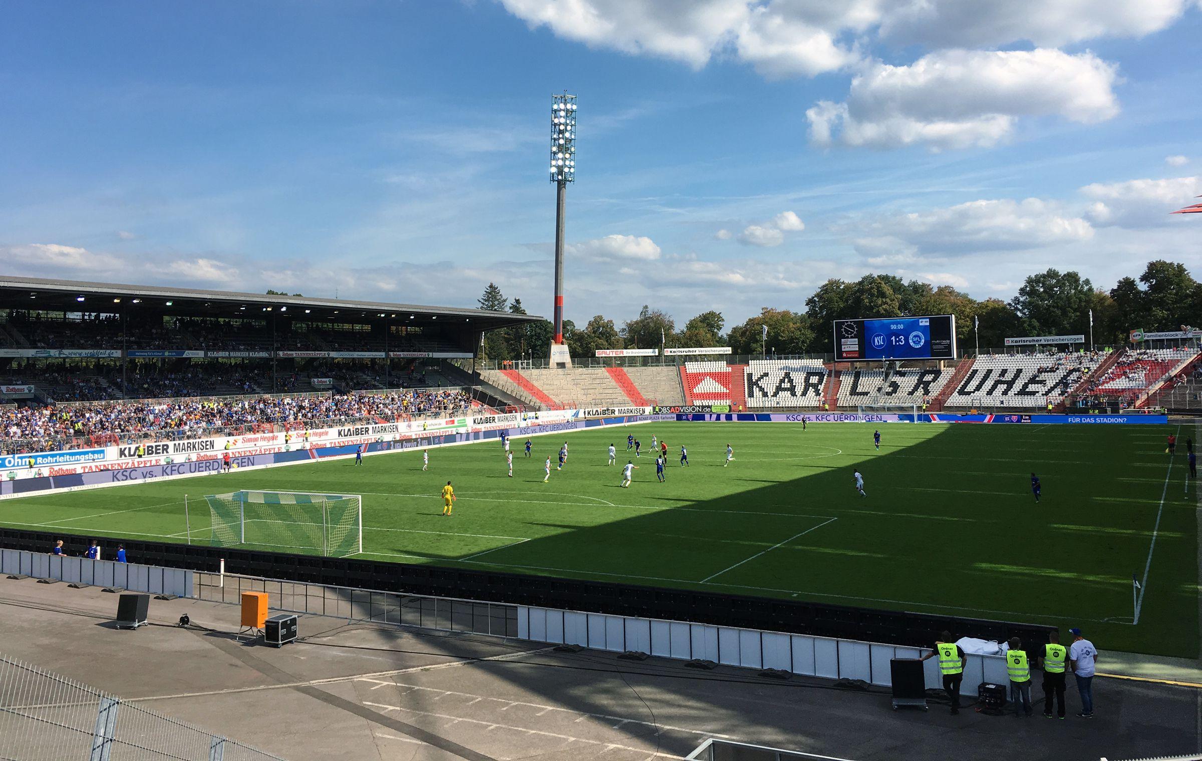 KSC vs Sportfreunde Lotte 1:3