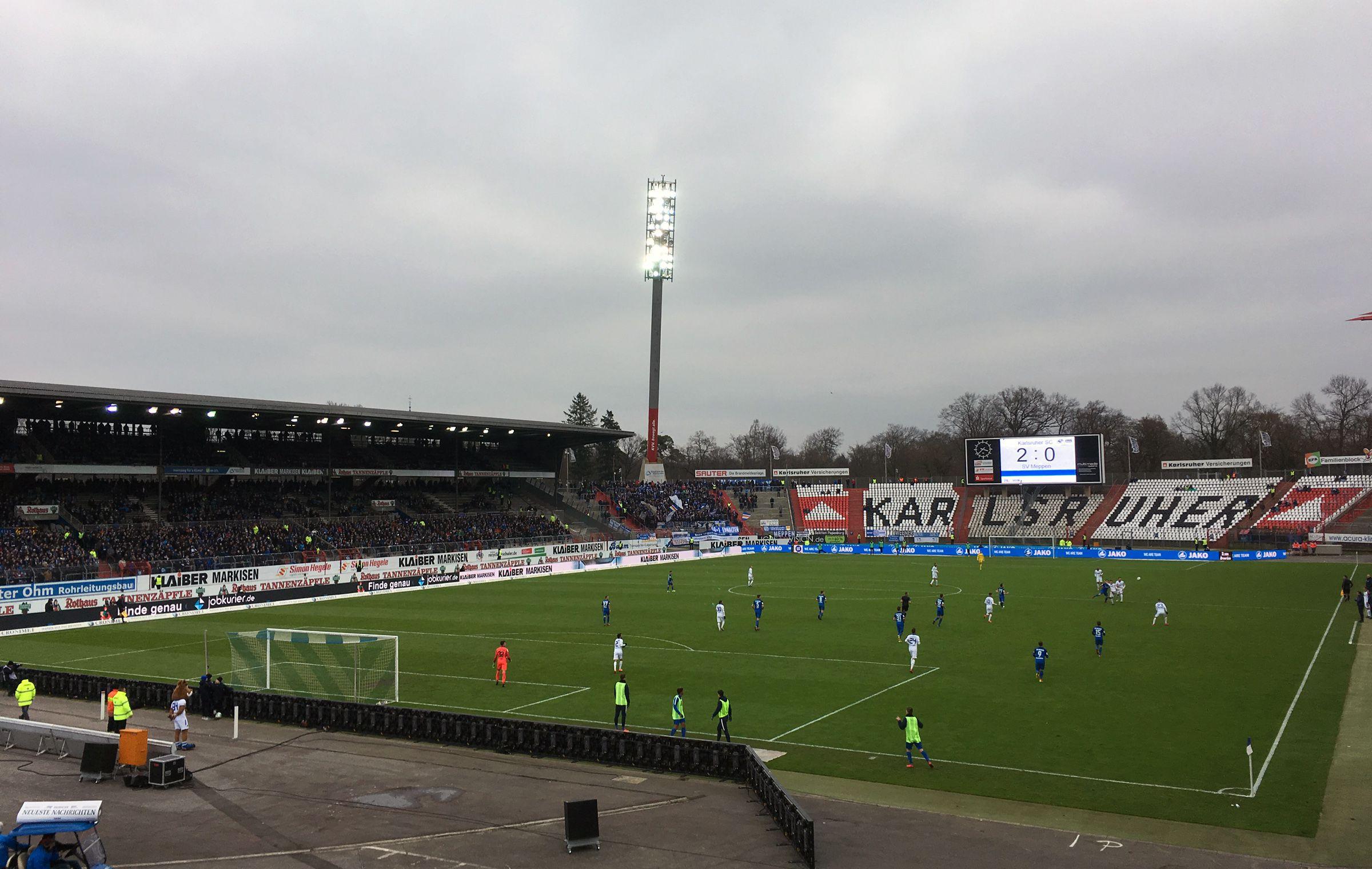 KSC vs SV Meppen 2:0