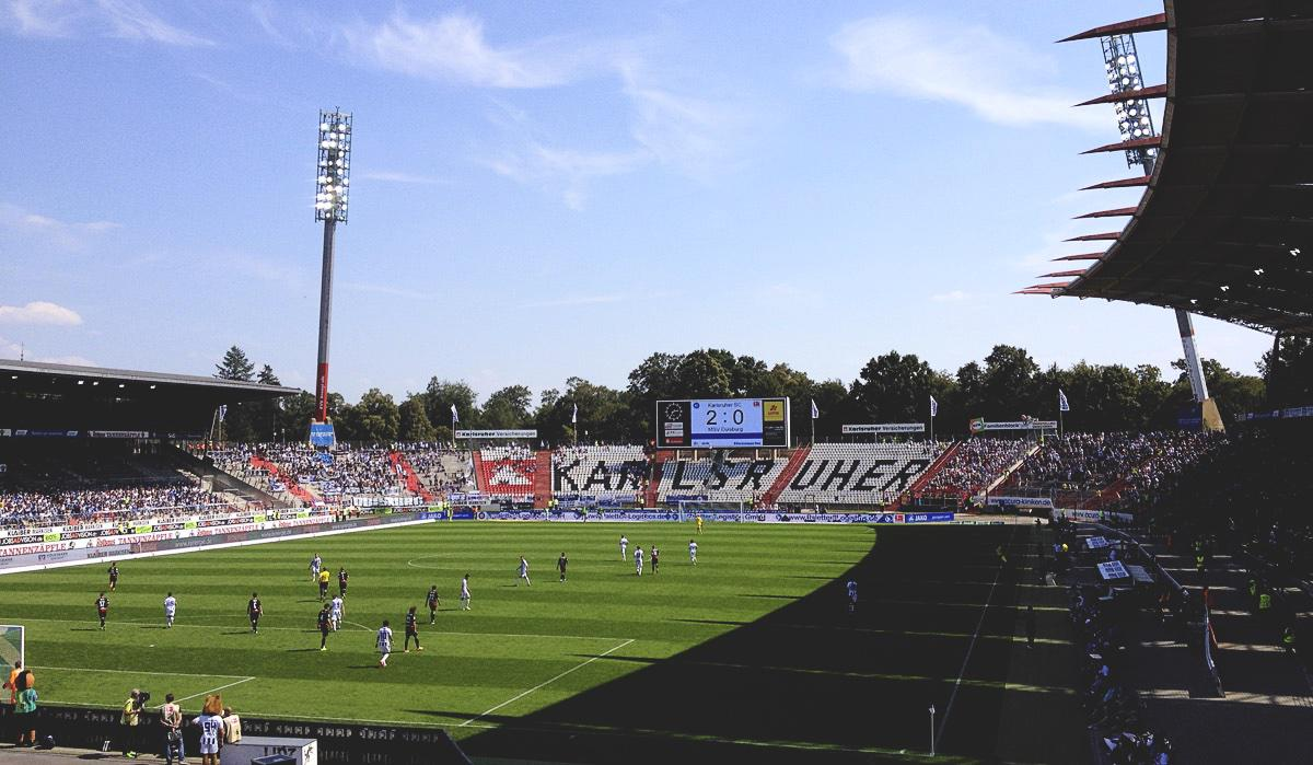 Bild: KSC vs MSV Duisburg 2:0, 22.8.15
