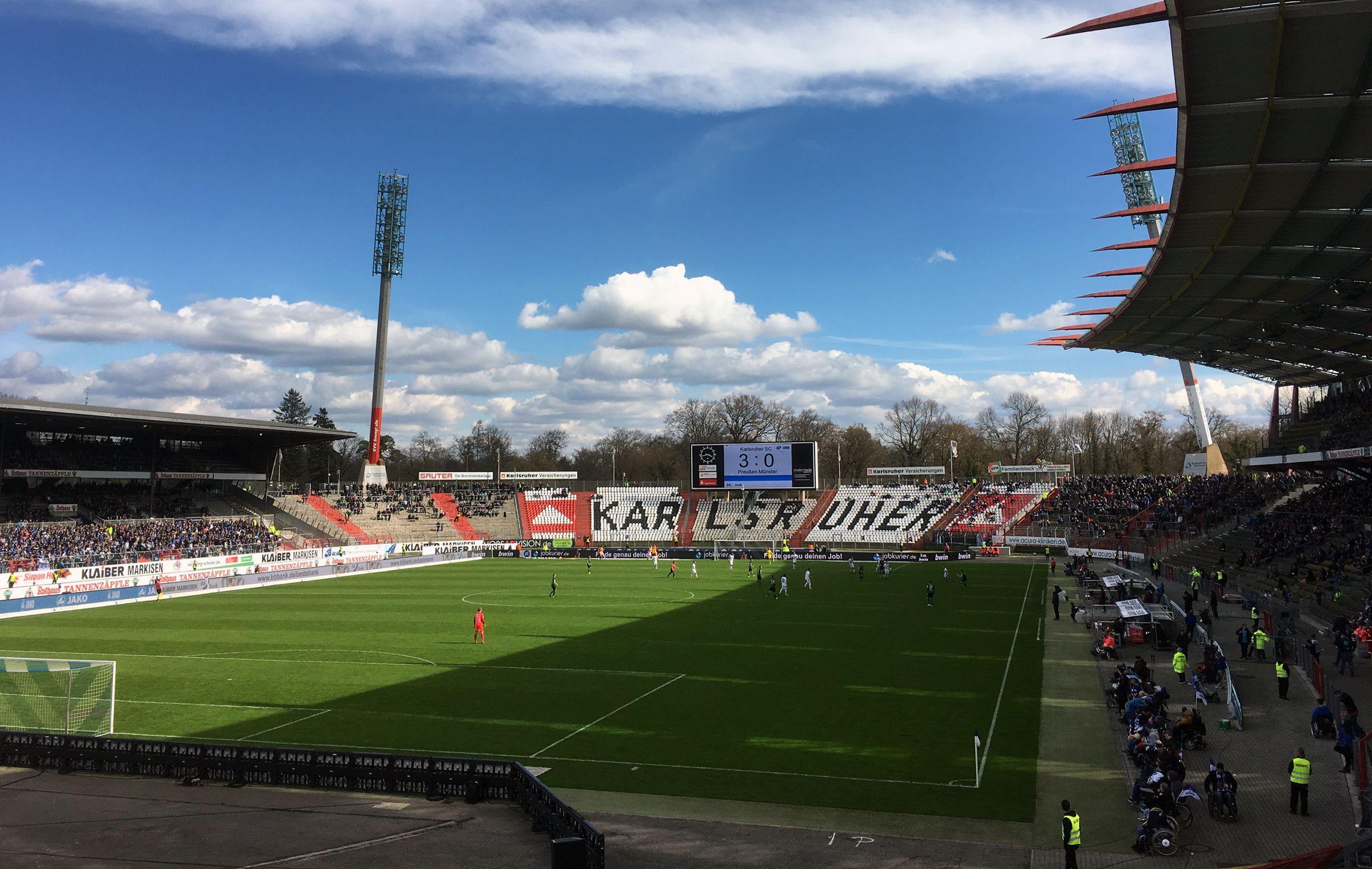 KSC vs Preußen Münster 3:0