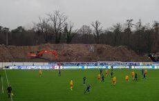 Baustellen-Fußball…