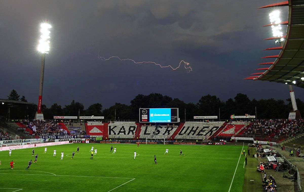 KSC vs VfL Osnabrück 2:2