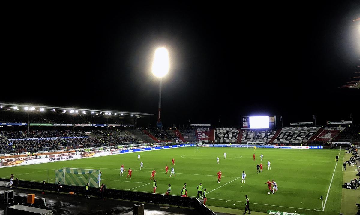 Bild: KSC vs RB Leipzig 0:1