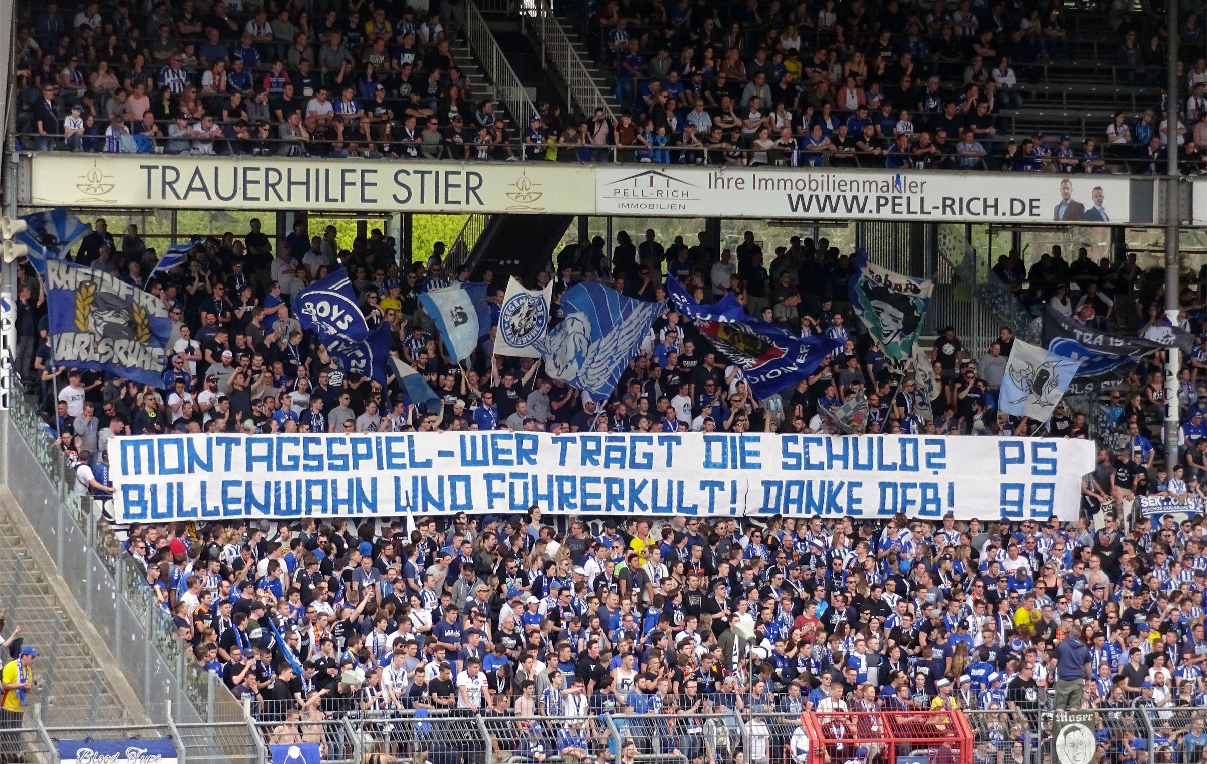 Montagsspiel in Zwickau mögen sie nicht…