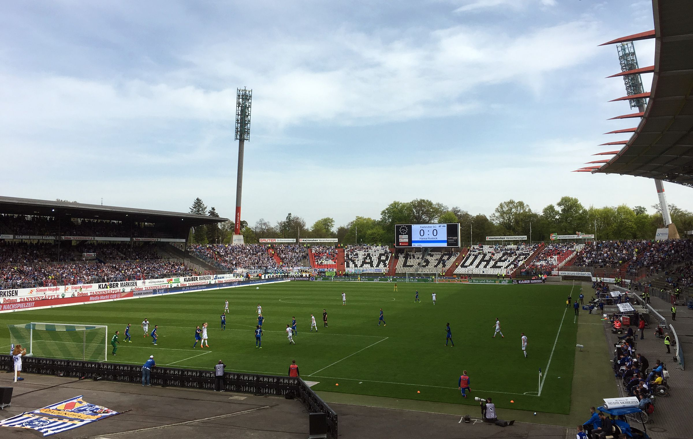 KSC vs FC Hansa Rostock 0:0