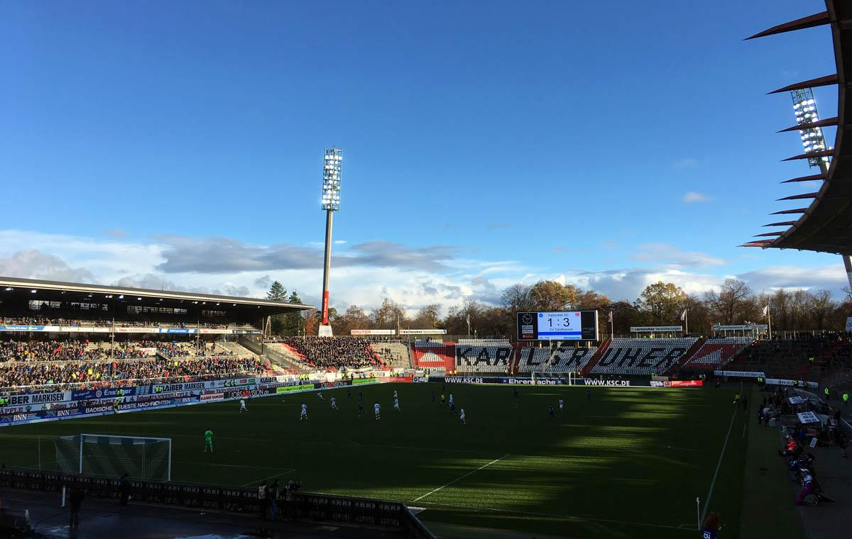 KSC vs SV Sandhausen 1:3